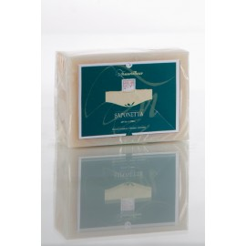 Soap with flakes of olive...